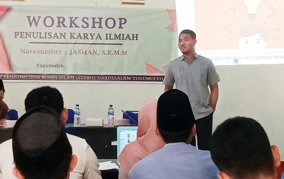 Workshop Penulisan Karya Ilmiah