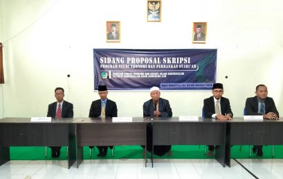 """Seminar Proposal Skripsi"" : The 1st Step To Be a Good  Bachelor of Economy"
